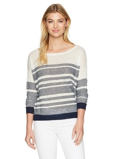 Splendid Women's Nevis Stripe Sweater  L