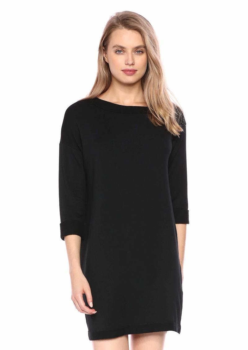 Splendid Women's Off Shoulder French Terry Dress  XL