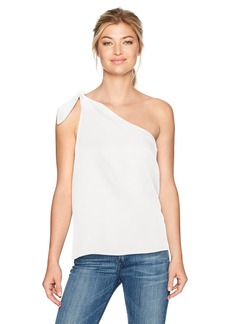 Splendid Women's One Shoulder Tie Tank  L