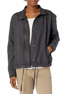 Splendid Women's Outwear Ford Jacket with Buttons  M