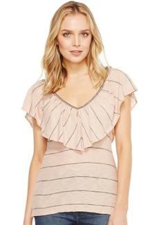 Splendid Women's Panama Stripe Tee  L
