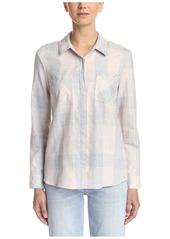 Splendid Women's Plaid Shirt  S