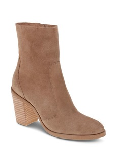 Splendid Women's Roselyn II Suede Block Heel Booties
