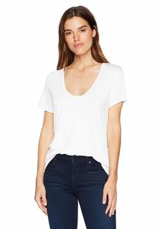 Splendid Women's Scoop Neck Short Sleeve T-Shirt  L