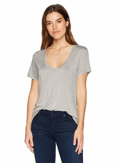 Splendid Women's Scoop Neck Short Sleeve T-Shirt  XS