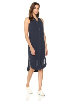 Splendid Women's Shirt Dress with Fray  M