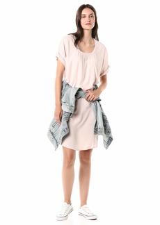 Splendid Women's Short Sleeve T-Shirt Dress  XS