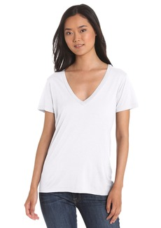 Splendid Women's Short Sleeve V-Neck