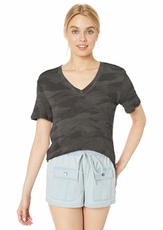 Splendid Women's Short-Sleeve V-Neck Tee T-Shirt