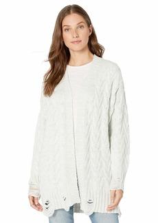 Splendid Women's Sleeve Long Cardigan Sweater  S