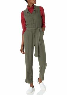 Splendid Women's Sleeveless Button Front Jumpsuit  S