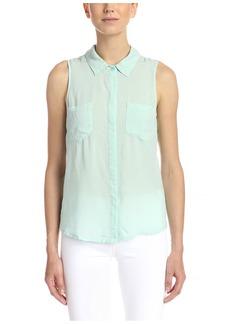 Splendid Women's Sleeveless Button-Up Shirt