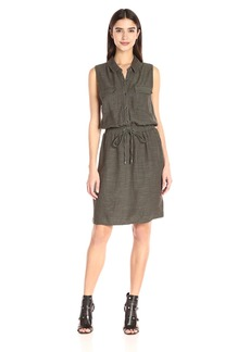 Splendid Women's Sleeveless Shirtdress