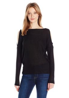 Splendid Women's Slit Shoulder Top  M