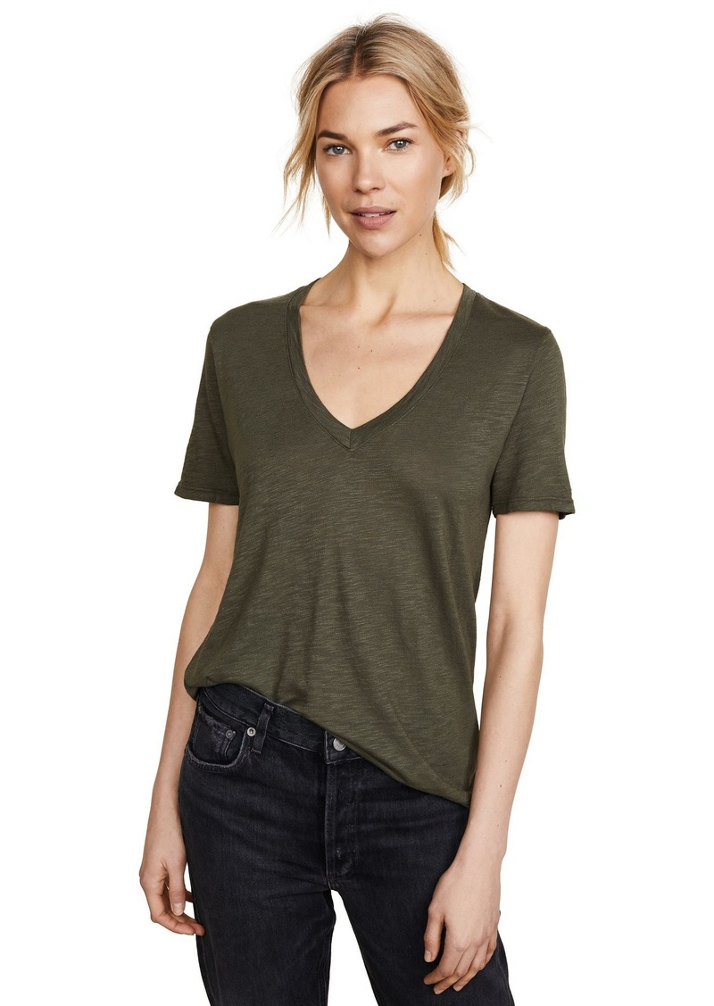 Splendid Women's Slub V Tee  XL