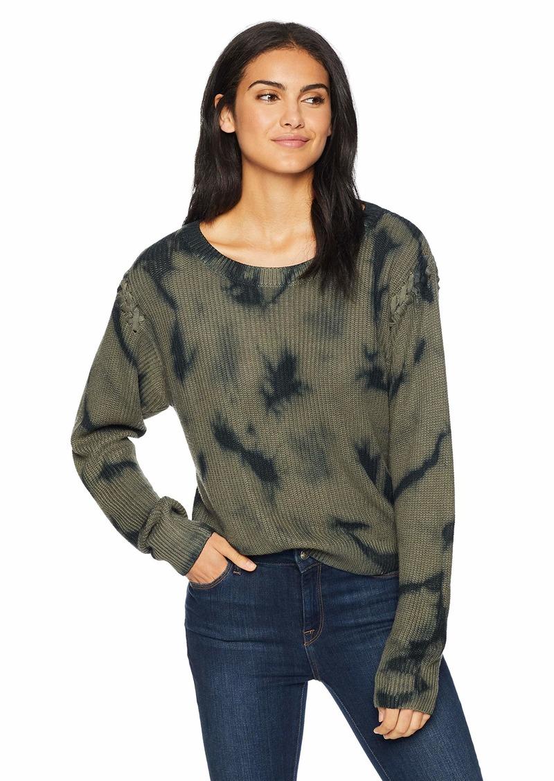 Splendid Women's Stitch Sleeve Pullover  XS