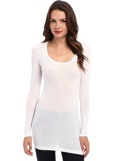 Splendid Women's Stretch Long Sleeve Top