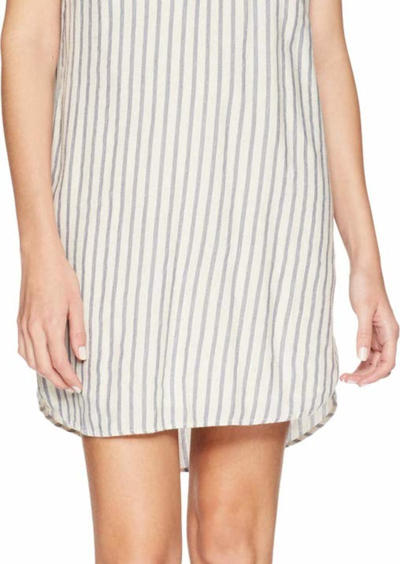 Splendid Women's Stripe Henley Dress  M