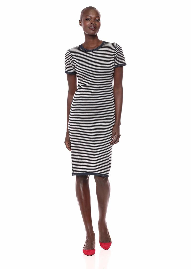 Splendid Women's Stripe midi Dress  S