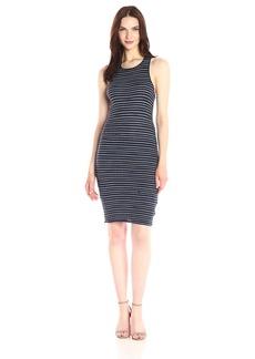Splendid Women's Stripe Rib Knit Dress  M