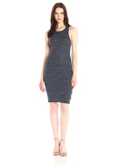 Splendid Women's Stripe Rib Knit Dress  XL
