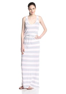 Splendid Women's Striped Tank Maxi Dress