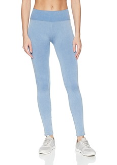 Splendid Women's Studio Activewear Workout Athletic Seamless Legging Bottom Moonlight Blue S