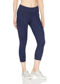 Splendid Women's Studio Activewear Workout Legging Capri Pants Bottom  L