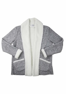 Splendid Women's Super Soft Cozy Cardigan Sweater Pajama Pj  M