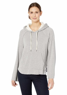 Splendid Women's Super Soft with Sherpa Hoodie Pullover  L