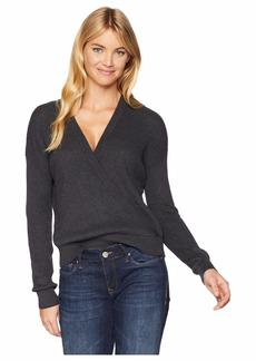 Splendid Women's Surplice Front Sweater  XL