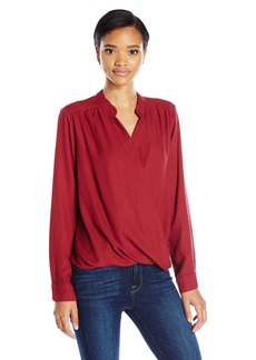 Splendid Women's Surplice Top  XS