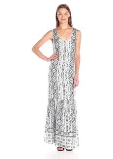 Splendid Women's Taos Boarder Maxi Dress