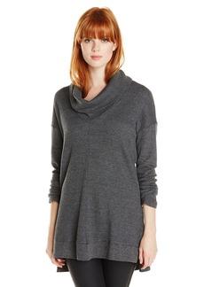 Splendid Women's Thermal Cowl Neck Sweater