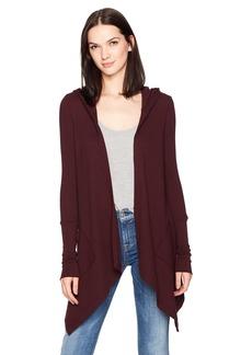 Splendid Women's Thermal Long Sleeve Hoodie  L