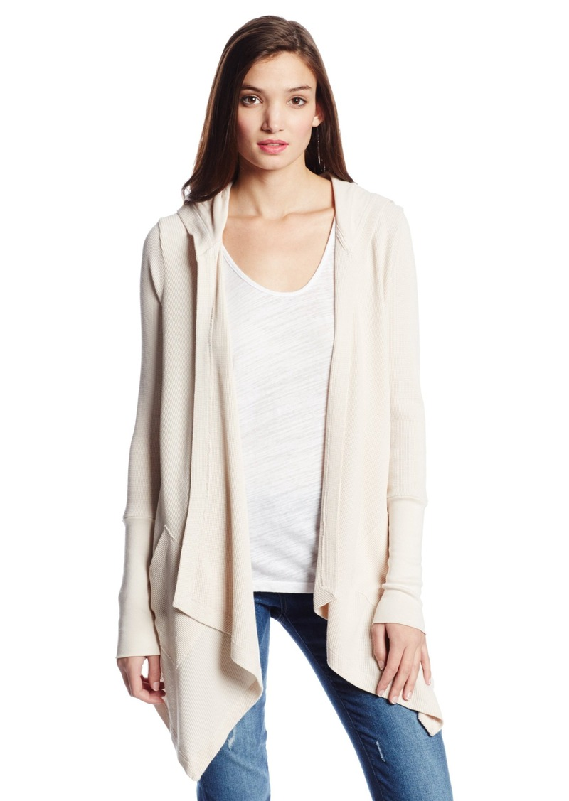 Splendid Splendid Women's Thermal Wrap Hooded Cardigan | Sweaters ...