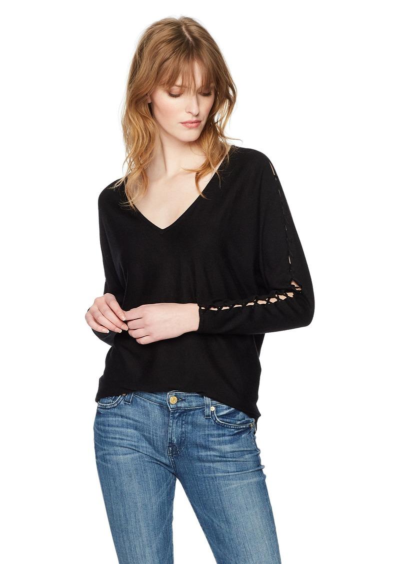 Splendid Women's V Neck Pullover  M