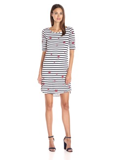 Splendid Women's Venice Stripe with Star Print Dress  XS