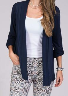 Splendid Women's Very Light Wrap Cardigan Navy