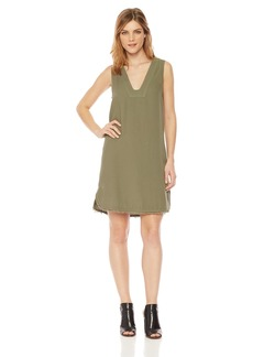 Splendid Women's Vneck Tunic Dress  L