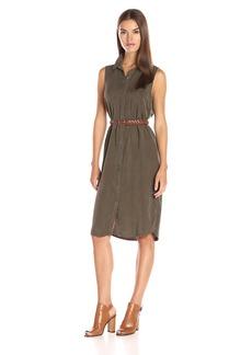 Splendid Women's Wilder Tencel Shirtdress  L