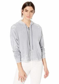 Splendid Women's Zip Up Hoodie Sweater  XL