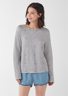 Splendid X Gray Malin Parasol Sweatshirt