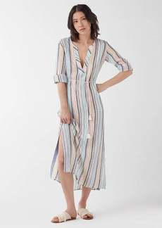 Splendid X Gray Malin Playa Stripe Caftan