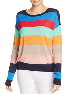 Splendid x Gray Malin Sunray Striped Sweater