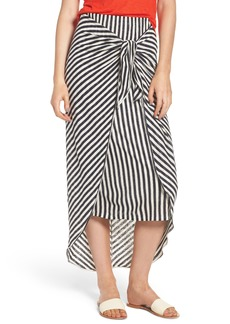 Splendid x Margherita Isola Stripe Sarong Skirt