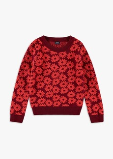 Splendid x Margherita Little Girl Daisy Sweater