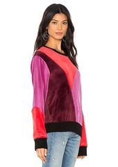 Splendid x MARGHERITA Velluto Pullover Sweatshirt
