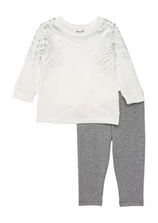 Splendid Zebra Pattern Foil Top & Pants Set (Baby)