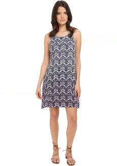 Splendid Zigzag Ombre Dress